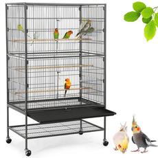 birdcage, cockatielcage, Storage, Metal