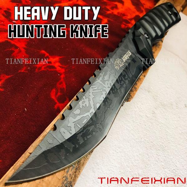 Heavy, Steel, bowiedagger, Hunting