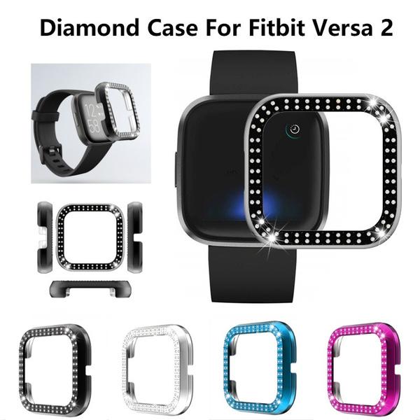 fitbitversa2strap, case, DIAMOND, Jewelry
