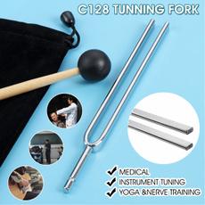 Steel, musicfork, hearingtest, tunningfork