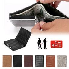 cashwallet, leather wallet, rfid, money clip