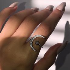 Sterling, DIAMOND, Star, Jewelry