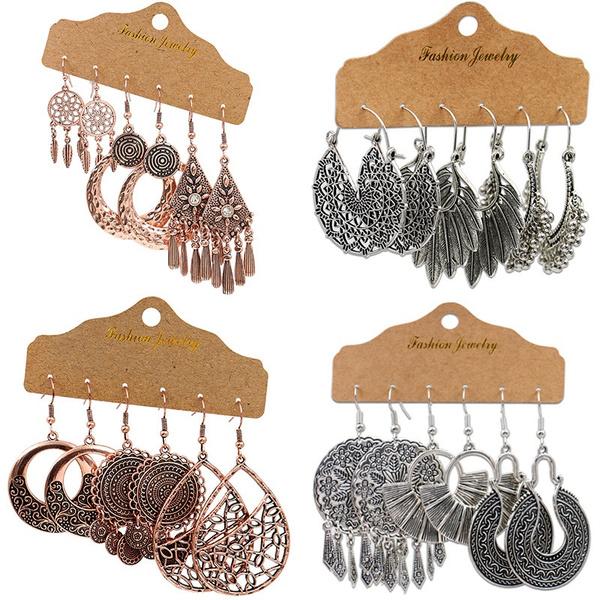 charmearring, Hoop Earring, Dangle Earring, Fashion