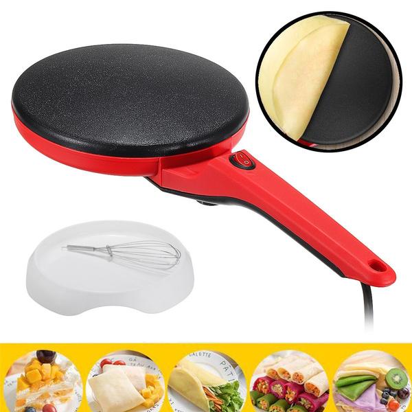 burrito, Electric, pancakebatter, crepemaker