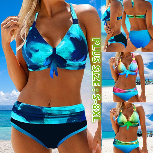 Two Piece Swimwear, Plus Size, bikini set, Bikini swimwear