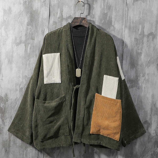 japanesetop, corduroycardigan, mencorduroycoat, vintagetop