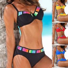Summer, Plus Size, Waist, bathing suit