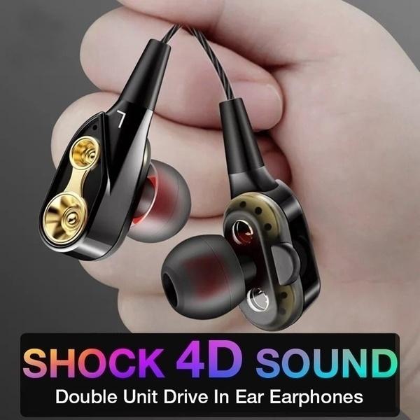 sportearbud, Microphone, vibrador, headphonesoverear