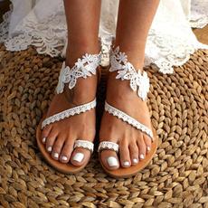 bohemia, beach shoes, strappysandal, Lace