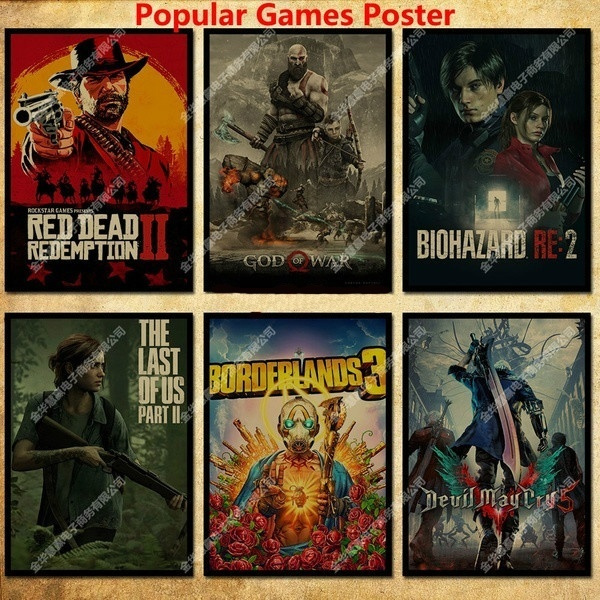 Video Games, movieposter, Wall Posters, gameposter