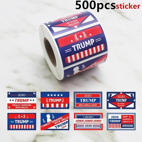 trumpsticker, uspresidentialstick, Car Sticker, Travel