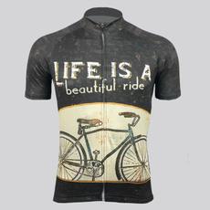 Beautiful, Fashion, Cycling, Shirt
