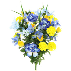 Blues, Flowers, Home Decor, flowerarrangement