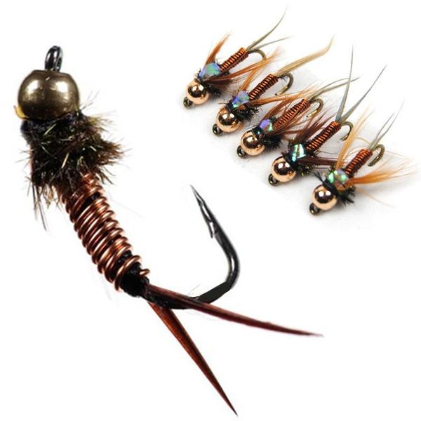 Brass, Copper, Head, fishingbait