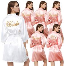 bridesmaidgown, weddingrobe, gold, Bride