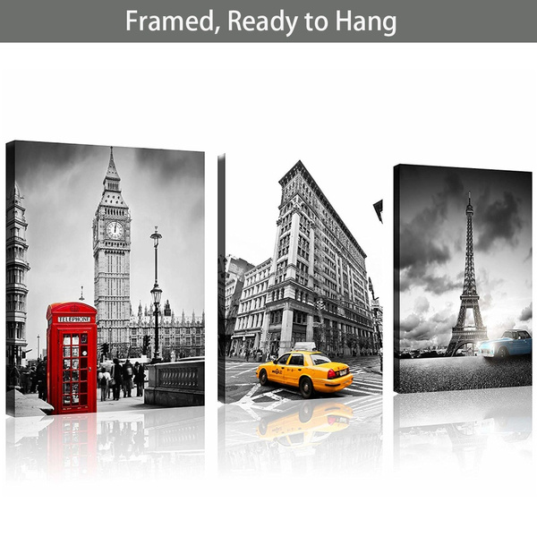 Wall Art, canvaspainting, New York, wallpicture