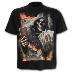 Goth, mensstreetwear, 3dprintedtshirt, Men