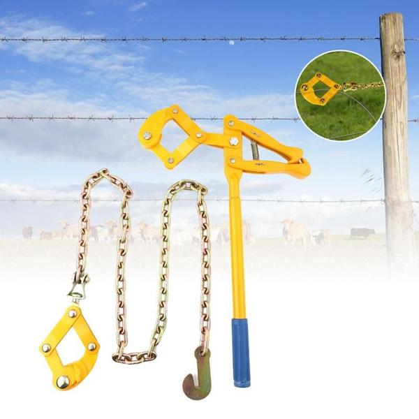 Heavy, fencerepairtool, Garden, Chain