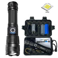Flashlight, Outdoor, usb, camping
