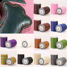 Polyester, leather, Sewing, flatwaxedthread