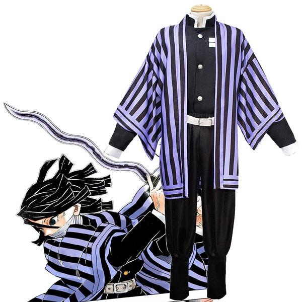 Demon Slayer Kimetsu No Yaiba Cosplay Iguro Obanai Kanroji Mitsuri Rengoku Kyoujurou Kimono Uniform Halloween Party Costume Set Wish He feels as if he can't tell her, however, this is because of his filthy blood, caused by the trauma he had endured in the past. wish