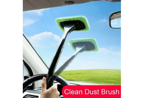 Cleaning Inside Interior Auto Glass Wiper Kit 2019 reakfaston Windshield Cleaner Tool,Car Window Cleaner with Extendable Handle