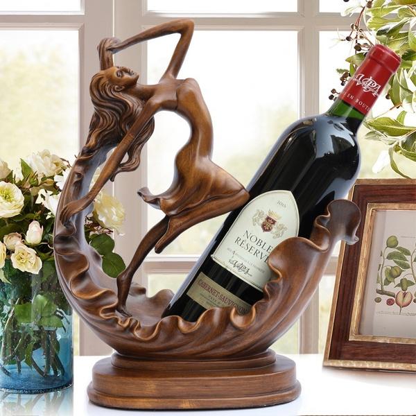 decoration, wineholder, bottlewinerack, Home & Living