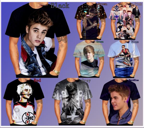 Funny, Fashion, 3dmentshirt, Justin