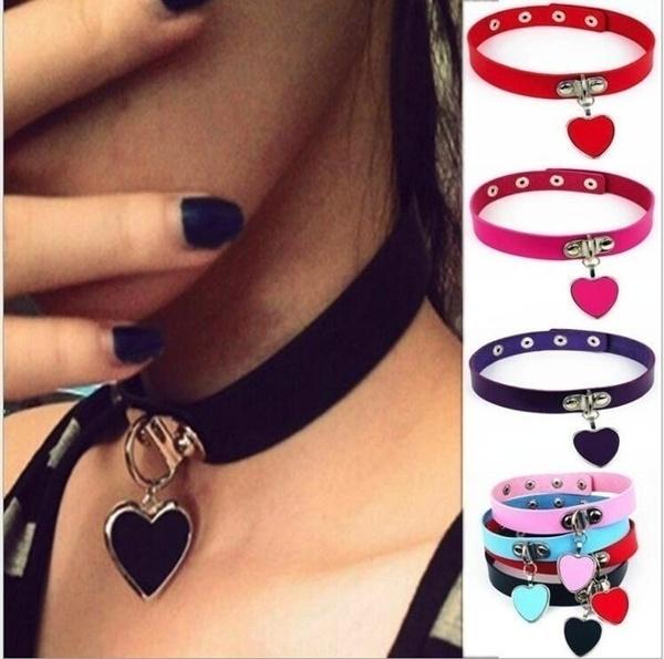 Goth, Fashion, punk necklace, Jewelry
