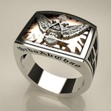 masonic, Fashion, Jewelry, 925 silver rings