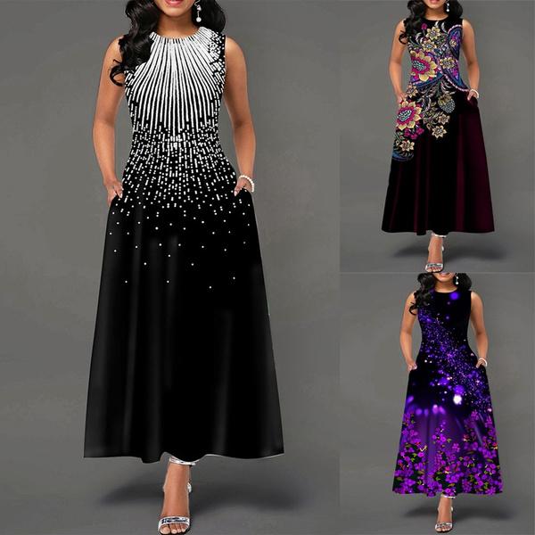 Summer, Print Dresses, ladies dress, Dress