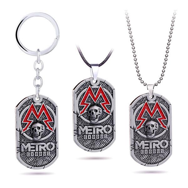 metroexodu, skullnecklace, Fashion, Key Chain