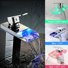 bathroomfaucet, Bathroom, LED faucet lights, tap