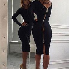 slim dress, Fashion, Sleeve, Dresses