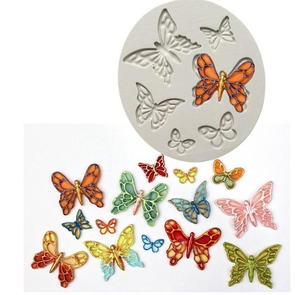 butterfly, caketool, Silicone, cakesiliconemold