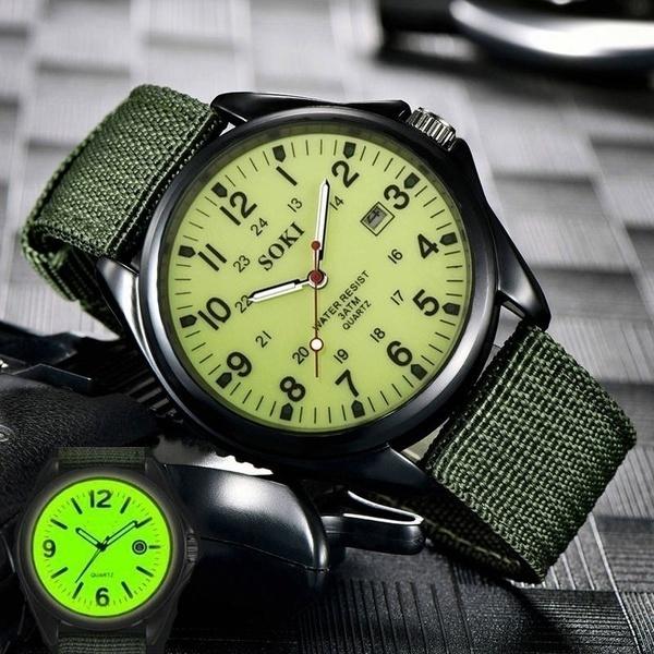dial, quartz, Clock, black dial
