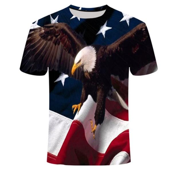 Summer, eagletshirt, Fashion, donaldtrumptshirt