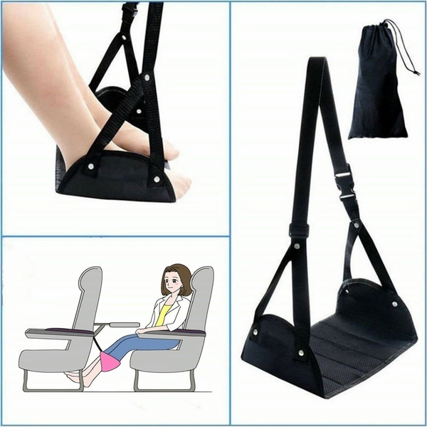 footresthammock, unisex, airplanefootrest, Travel