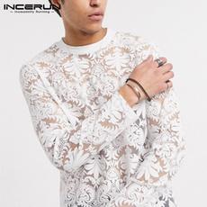 perspectiveshirt, white shirt, Lace, Sleeve