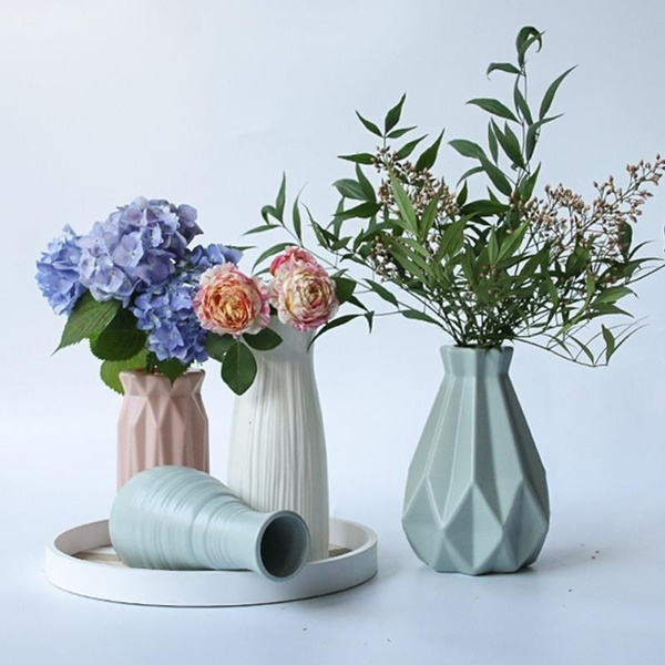 Plastic, Home & Kitchen, Flowers, Home & Living