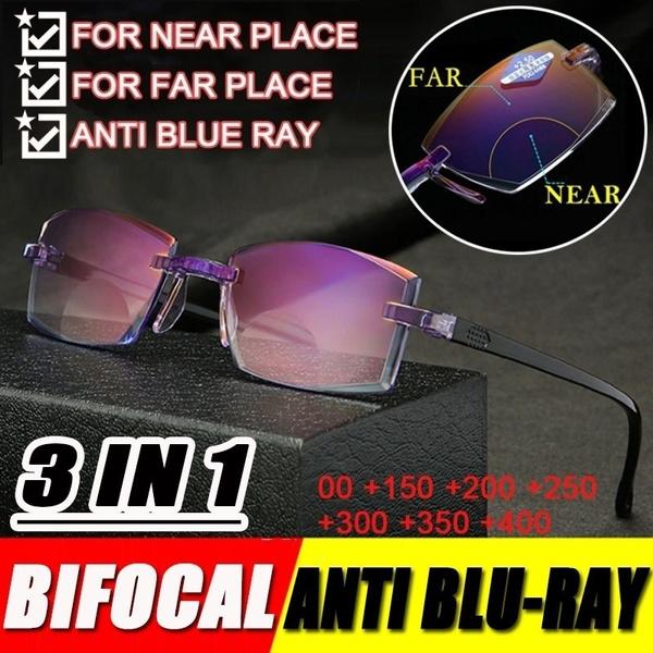 Blues, antibluerayglasse, Blue light, presbyopic