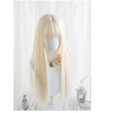 wig, cute, Cosplay, longstraighthair