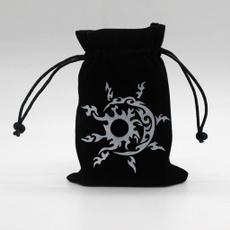 Drawstring Bags, Dice, dicebag, velvetbag