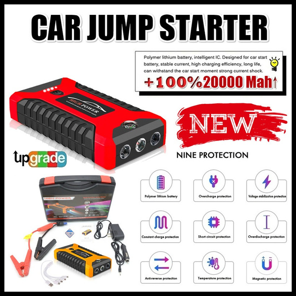Cars, charger, Mobile Power Bank, jumpstarter