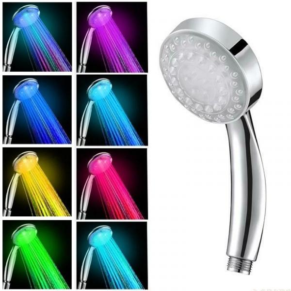 Shower, Bathroom, led, Colorful