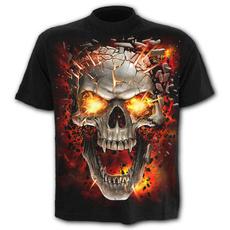 deathtshirt, Goth, Summer, mensstreetwear
