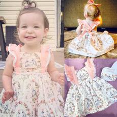 pink, Lace Dress, ruffle, Princess