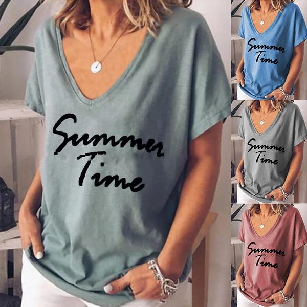 blouse, Summer, Plus Size, Cotton Shirt
