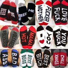 Funny, Cotton Socks, compressionsock, men women
