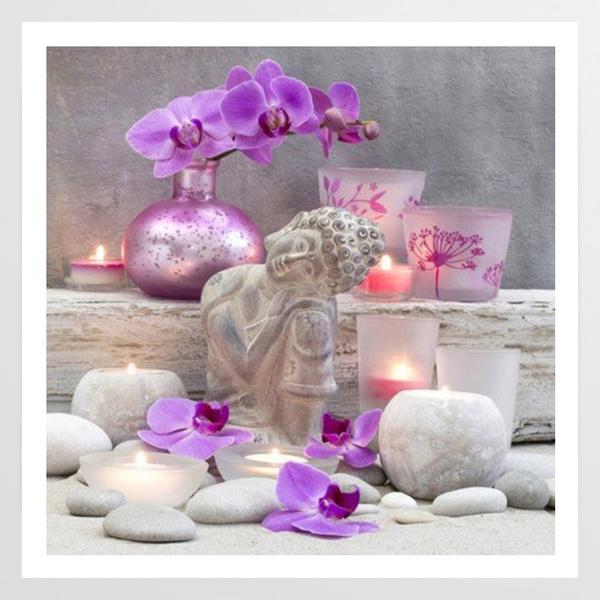 pink, Flowers, 5dfulldiamondpainting, Gifts